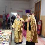 Молебен на открытие православной ярмарки