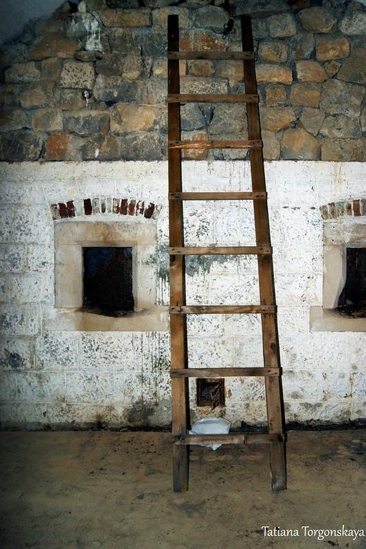 Лестница в помещении 1 этажа
