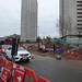 Holloway Circus roadworks
