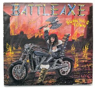 A0465 BATTLEAXE Burn Ths Town