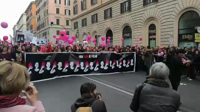 Non Una di Meno - Roma 25/11/2017