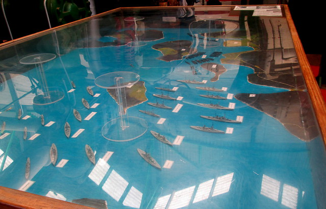 Model of Scapa Flow, Lyness Naval Museum