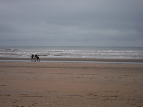 Horse Riders on Camber Sands
