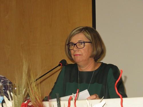 Rosa Mª Muñoz Gómez presentación libro sobre el habla andaluza