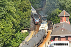 CSX and MARC at Harpers Ferry
