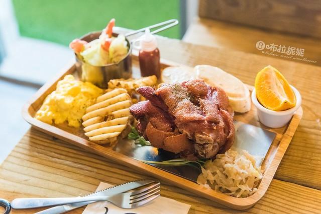 【埔里美食餐廳推薦】超澎派早午餐,份量價位嚇到你吃手手,IG打卡推薦@KS飽食館