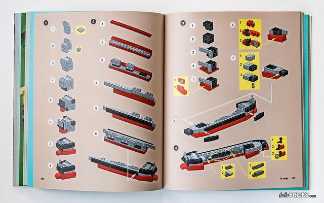Livre LEGO - Le monde LEGO en mini 07