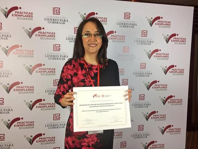 Programa Aulas Hospitalarias Concurso Prácticas Ejemplares Ecuador 2017