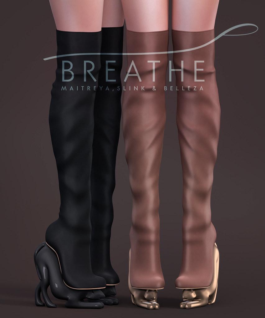 [BREATHE]-Cloe Boots - TeleportHub.com Live!