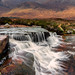 Waterfall, Rannoch Moor