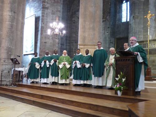 2017 11 12 Messe d'installation des prêtres du doyenné, cathédrale de Rodez (93)