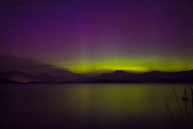 Northern Lights, Loch Lomond