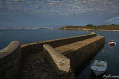Brest vu du port de Porsmeur près pointe Armorique