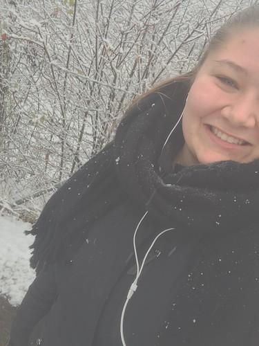 Mig i sne