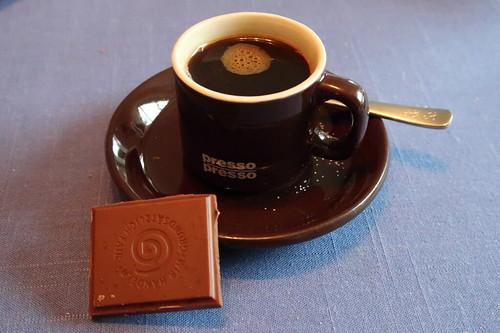 GEPA Bio Grand Chocolat Espresso Caramel zum Espresso
