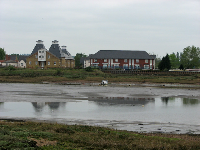 Old maltings near Heybridge
