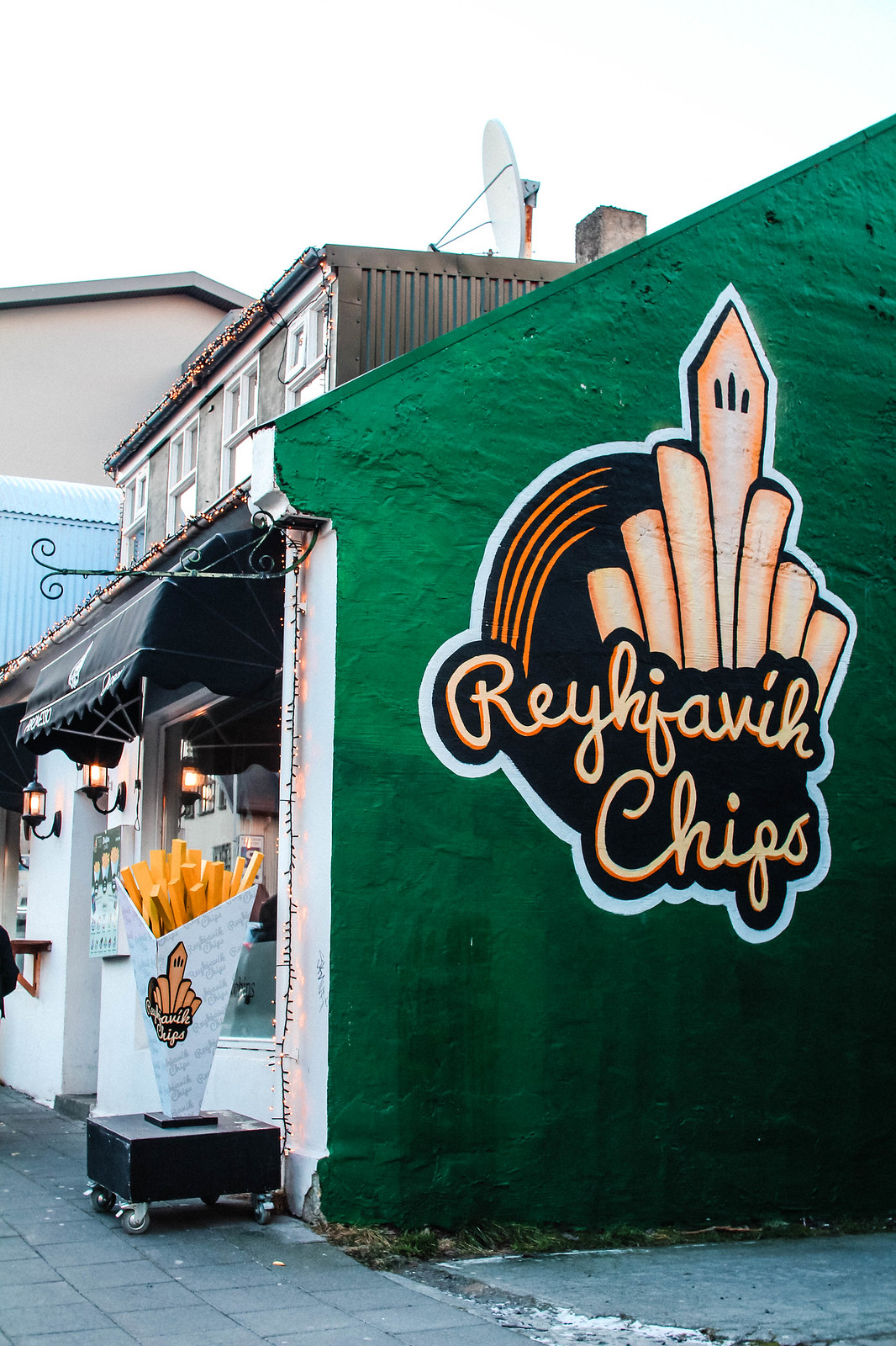 Food Guide to Reykjavik travel lifestyle blogger UK The Little Things