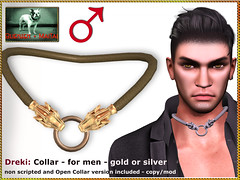 Bliensen - Dreki - Collar for men