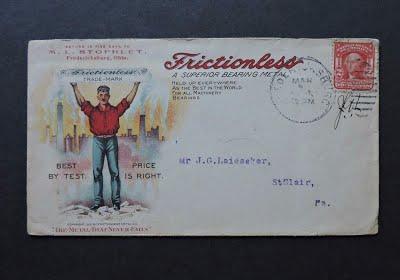 STOPHLET, M L. 1905 envelope