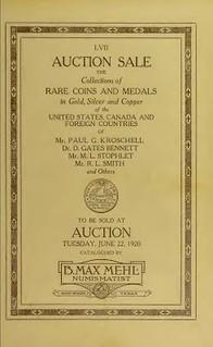 MEHL cat 6-22-1920 M. L. STOPHLET