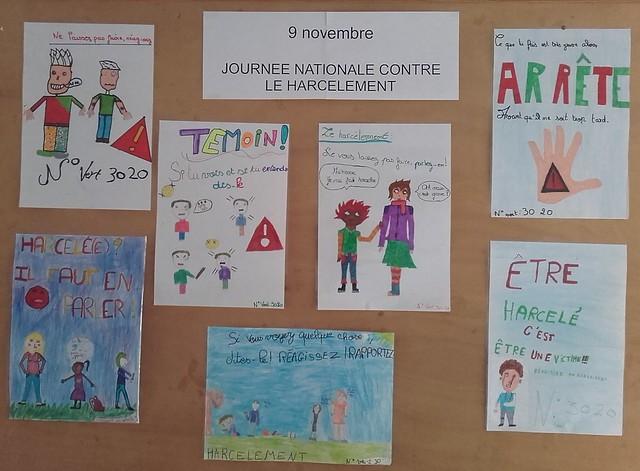 Les élèves de l'école Jean de la Fontaine ont réalisé des affiches de sensibilisation