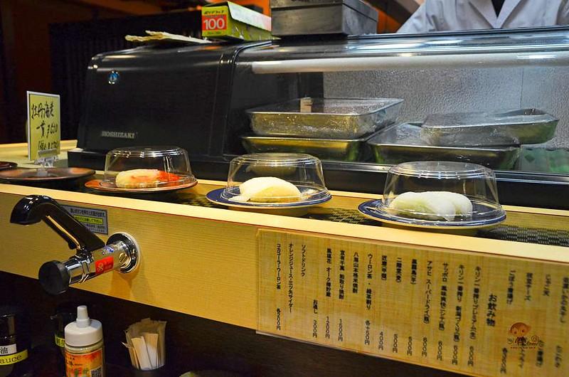 本陣迴轉壽司, 越後湯澤美食, 越後湯澤晚餐, 越後湯澤滑雪