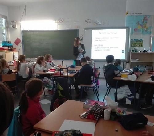 Taller de periódico digital con el alumnado de Primaria