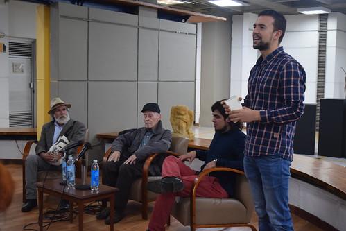 Tertulia Libros, autores y voces con el poeta Jaime Jaramillo Escobar