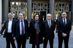dv., 17/11/2017 - 12:15 - Declaració de Colau, Trias i Hereu en suport de l'Agència Europea del Medicament