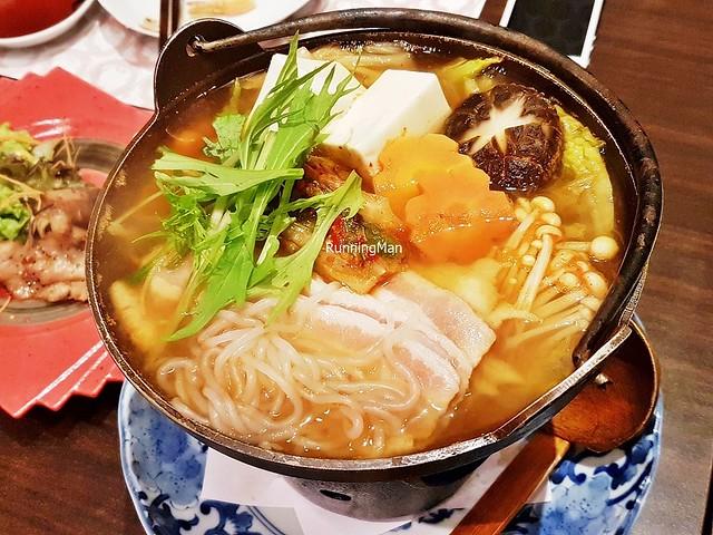 Kimchi Baechu Buta Nabe