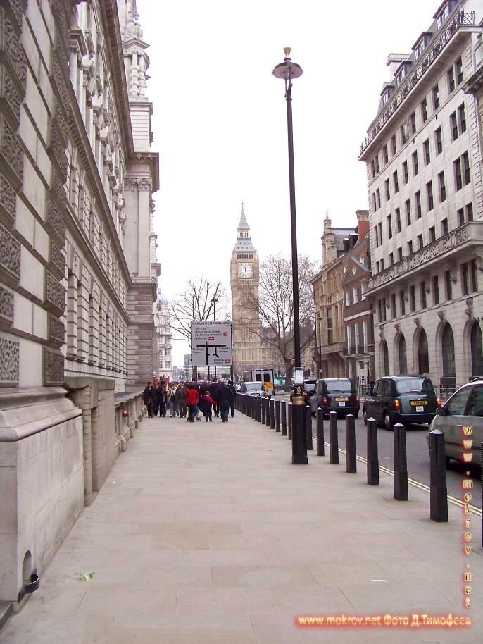 Лондон с фотоаппаратом прогулки туристов