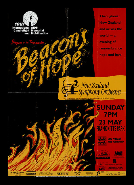 Beacons of Hope poster & World AIDS Day