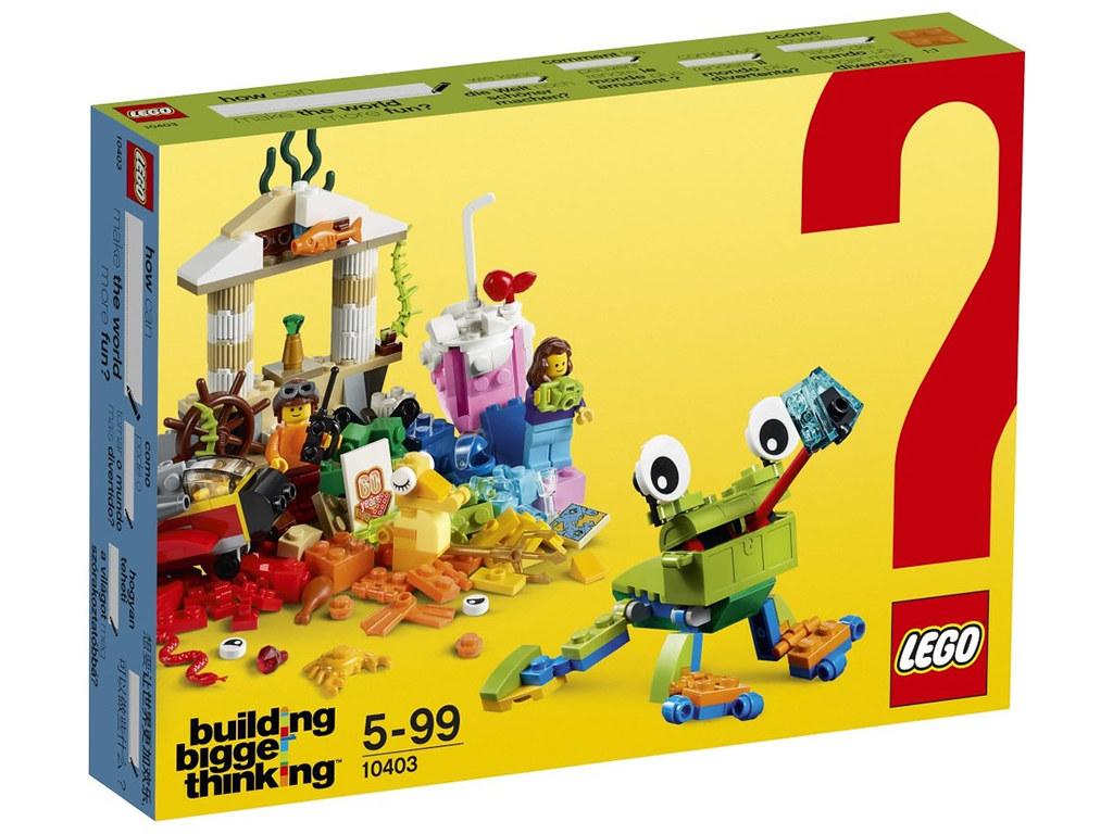 LEGO Building Bigger Thinking 10403 - World Fun