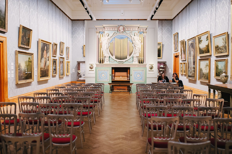 This is a picture of a National Museum Cardiff Wedding  - gallery 4
