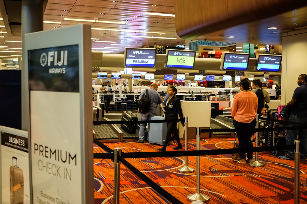 Fiji Airways check-in
