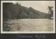"""""""Thomasine Rapids"""" / Rapides sur la rivière Thomasine"""