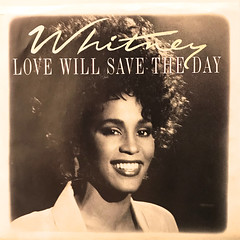 WHITNEY HOUSTON:LOVE WILL SAVE THE DAY(JACKET A)