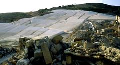 1988 Gibellina - Cretto in costruzione