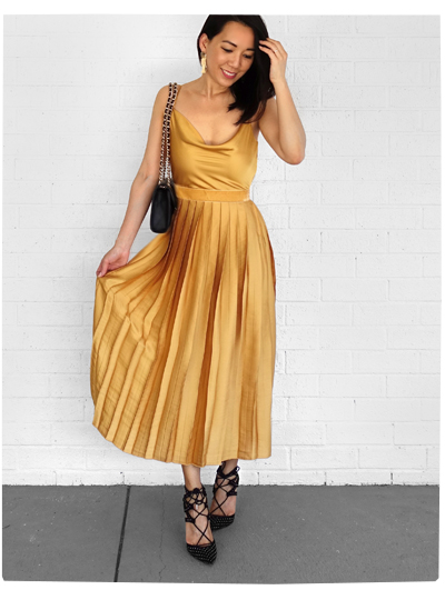 Tularosa x Revolve Yellow Dress
