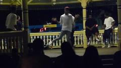 HIP-HOP dancing in Alamo Plaza (Sun., 10/1/17)