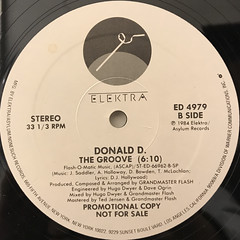 DONALD D.:DON'S GROOVE(LABEL SIDE-B)