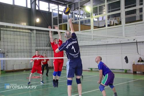 Турнир по волейболу, посвященный памяти Николая Ивановича Шмелькова