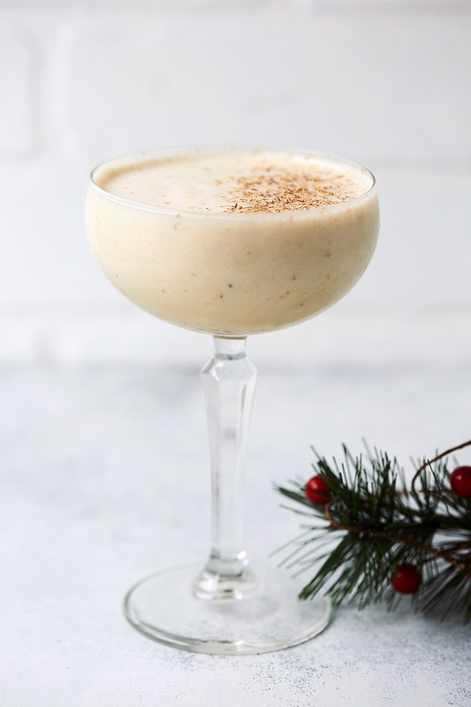Dairy-free Eggnog {Paleo and Keto-friendly}