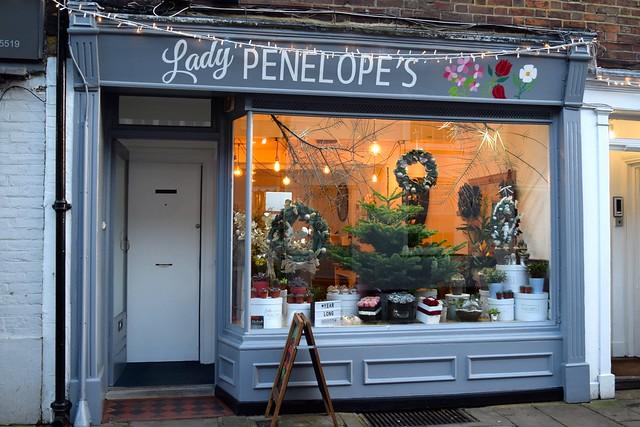 Lady Penelope's Christmas Windows, Canterbury #christmas