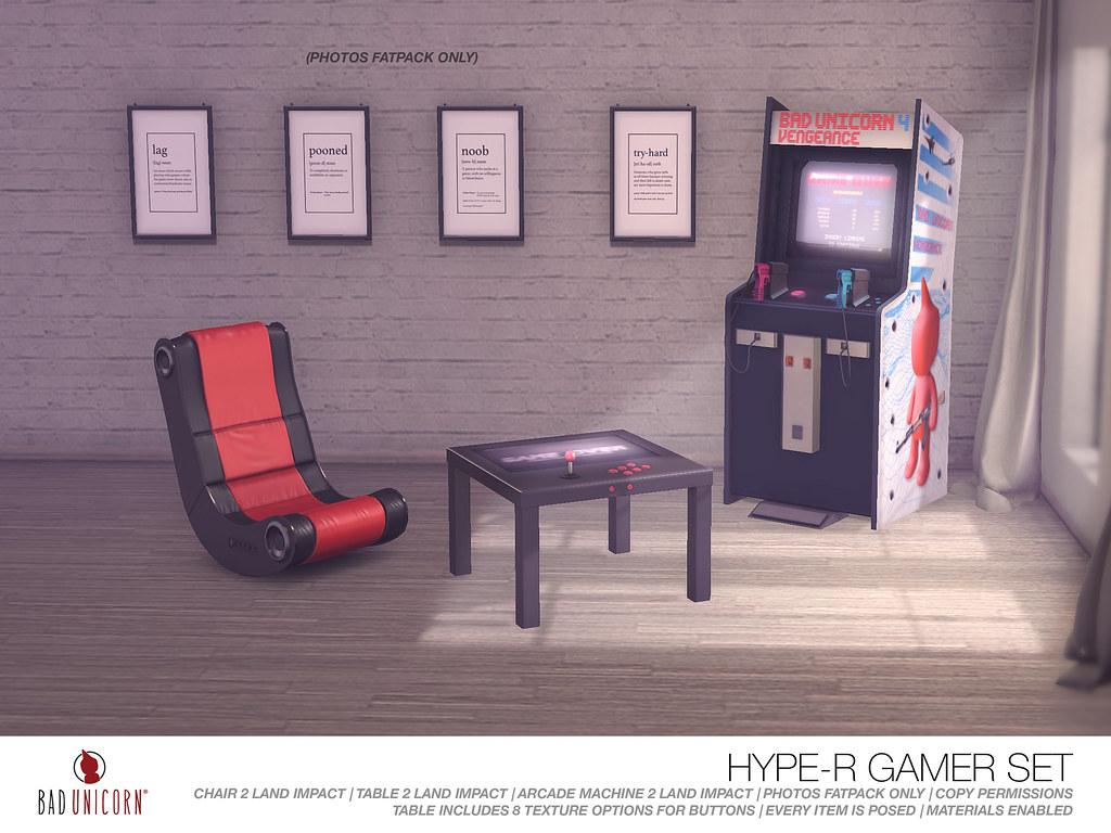 NEW! Hype-R Gamer Set @ TMD