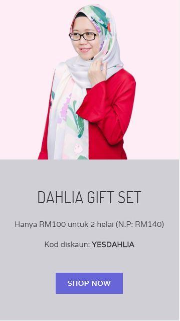 Dahlia Gift Set