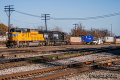 UP 4100 | EMD SD70 | NS Memphis District
