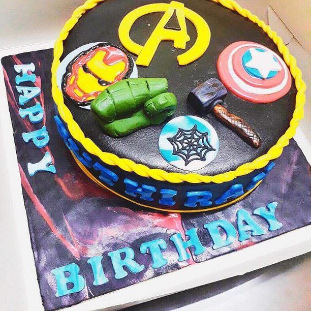 Marvel Cake by Padmaja Sreetharan of Taste like Heaven