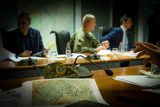 Map-reading Training for Kosovo Security Council