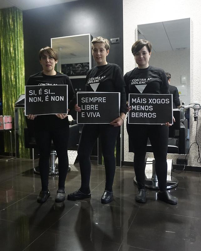 Campaña En negro contra as Violencias